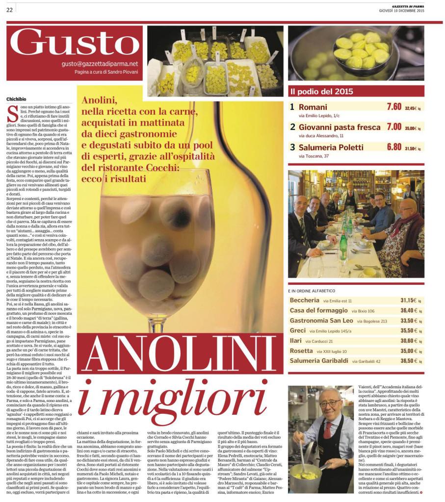 Gusto - Gazzetta di Parma